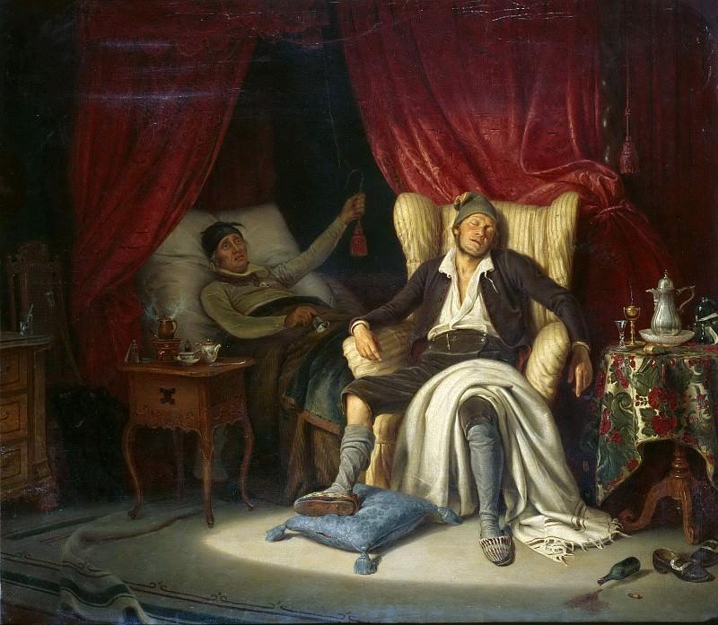 Healthy sleep. Eduard Karl Gustav Lebrecht Pistorius