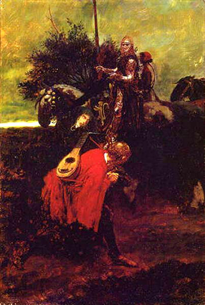 Pyle Howard In Knighthood-s Day. Howard Pyle