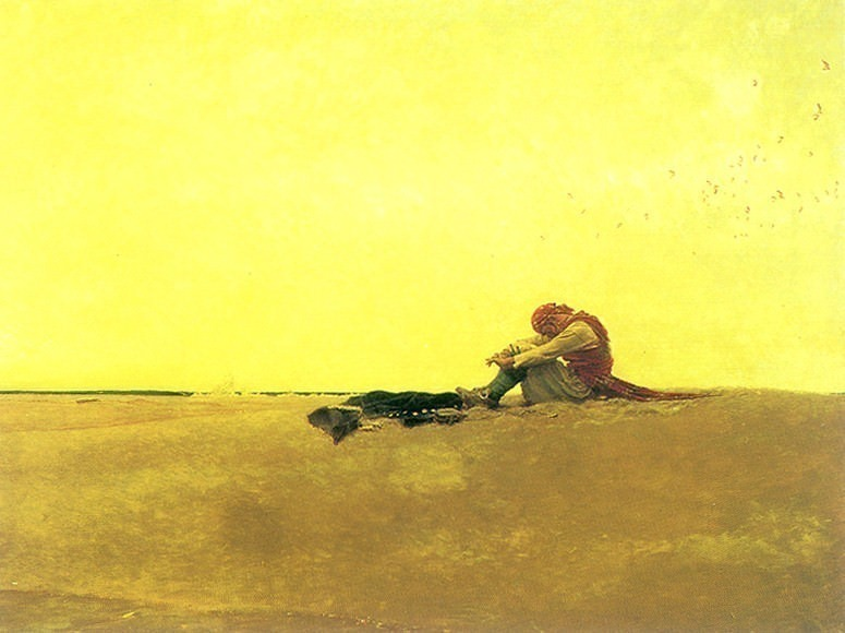 Marooned. Howard Pyle