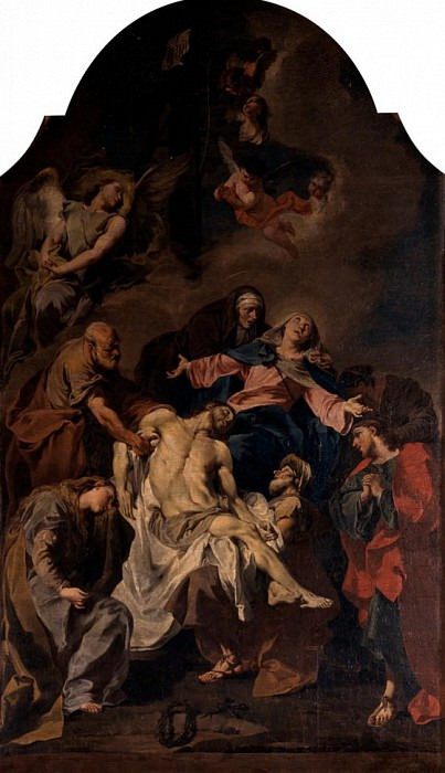 Deposition. Giovanni Battista Pittoni