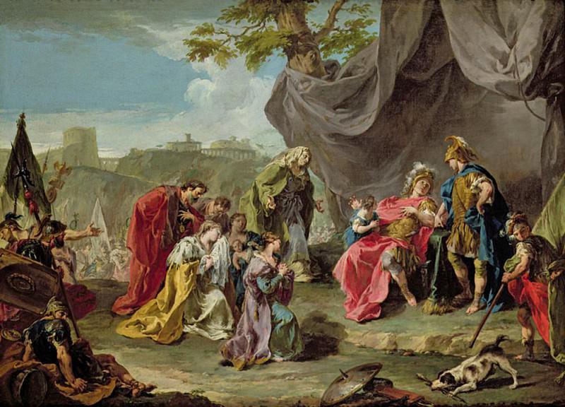 Coriolanus. Giovanni Battista Pittoni