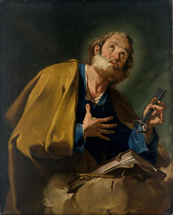 St. Peter. Giovanni Battista Pittoni