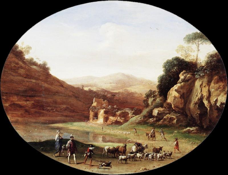 Poelenb 27Valley. Cornelis Van Poelenburgh