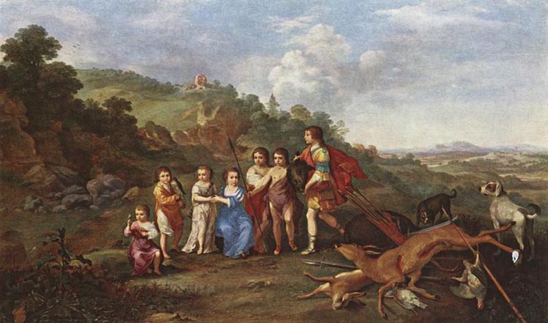 Дети Фредерика V, курфюрста Пфальцского и короля Богемии. Корнелис ван Пуленбург
