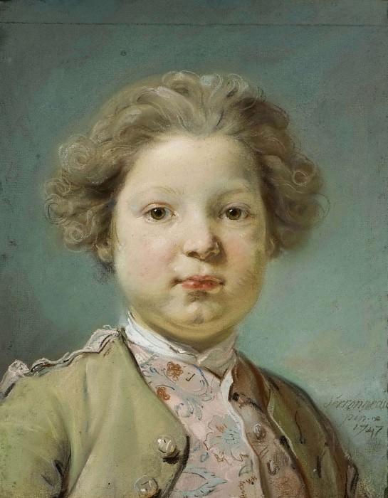 Portrait of a Boy. Jean-Baptiste Perronneau