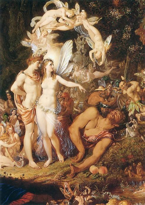 The Reconciliation of Oberon and Titania2. Sir Joseph Noel Paton