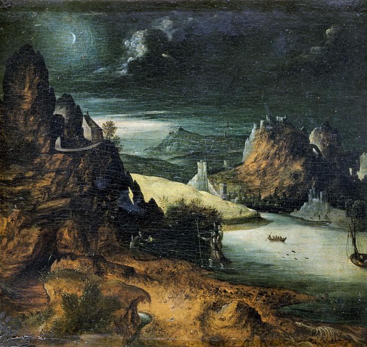 Fantastic Landscape (style). Joachim Patinir