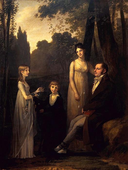 The Schimmelpenninck Family. Pierre-Paul Prudhon