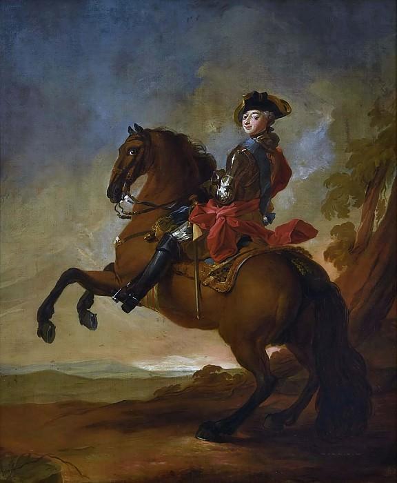 Frederik V (1723-1766), King of Denmark and Norway. Carl Gustaf Pilo