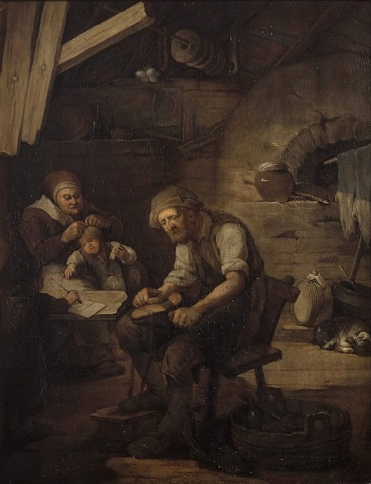 The Cobbler's Family. Carl Gustaf Pilo