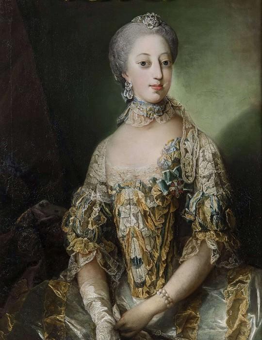 София Магдалена, королева Швеции. Карл Густав Пило