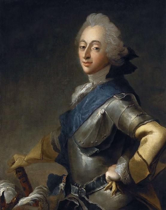 Frederik V, King of Denmark. Carl Gustaf Pilo