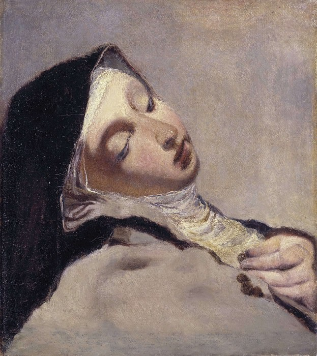 St Teresa in extasy. Giovanni Battista Piazzetta (After)
