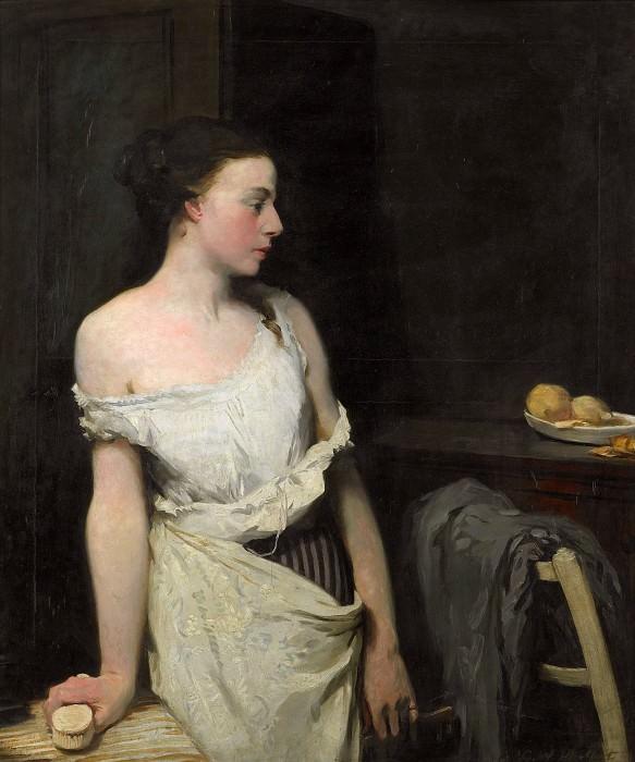 Girl at her toilet. Glyn Warren Philpot