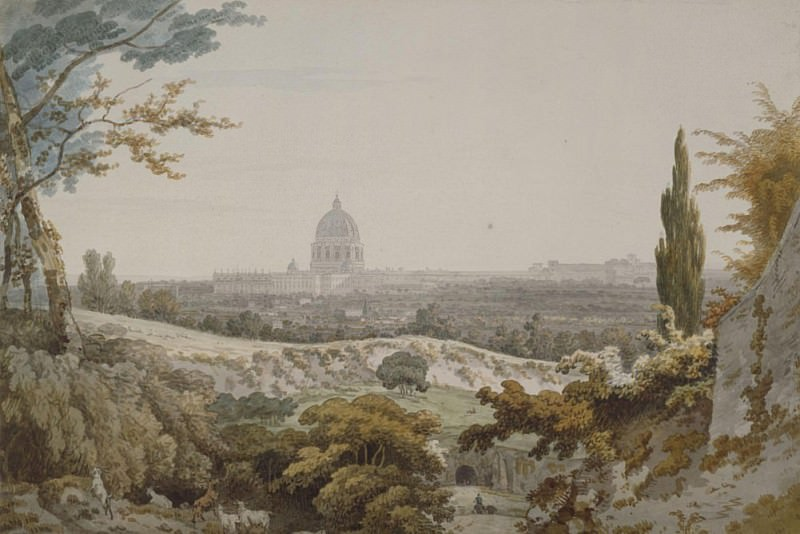 Собор Святого Петра в Риме. Уильям Парс