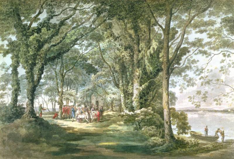 A Picnic Park in Ireland. William Pars