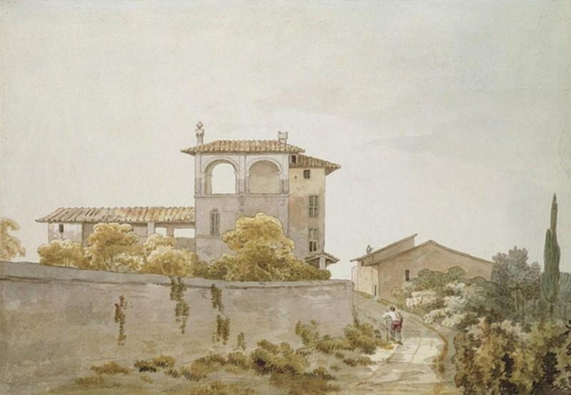 An Italian Villa. William Pars