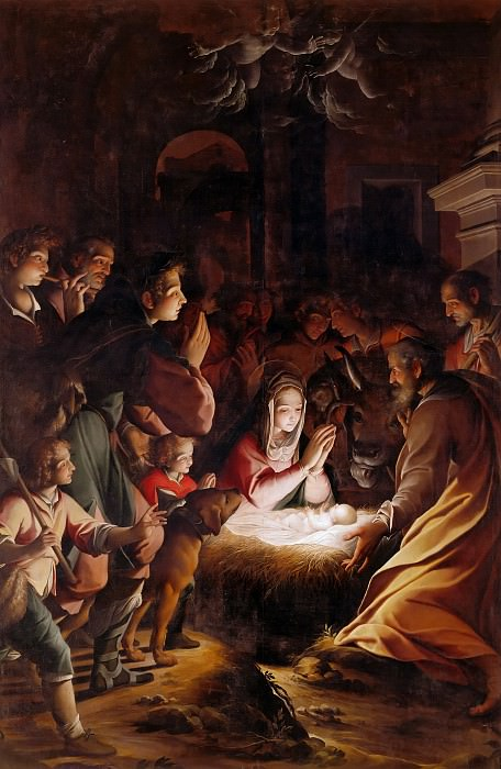 Adoration of the Shepherds. Camillo Procaccini