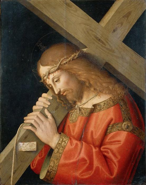 Христос с крестом. Марко Пальмеццано