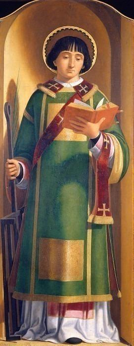 Сан-Лоренцо (полиптих Бербенно). Андреа Превитали (Кордельяги)