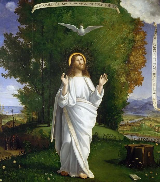 Transfiguration of Jesus. Andrea Previtali