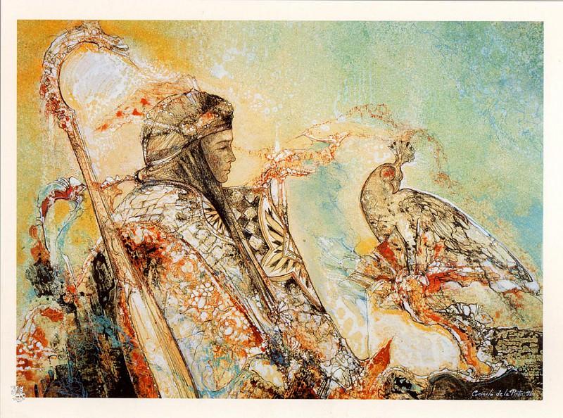 Le Prince et le Faucon. Camelo De La Pinta