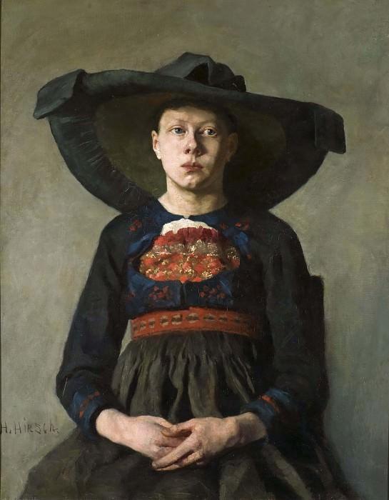 Баварская крестьянка. Ханна Паули