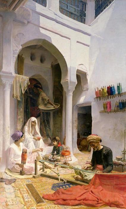 An Arab Weaver. Armand Point