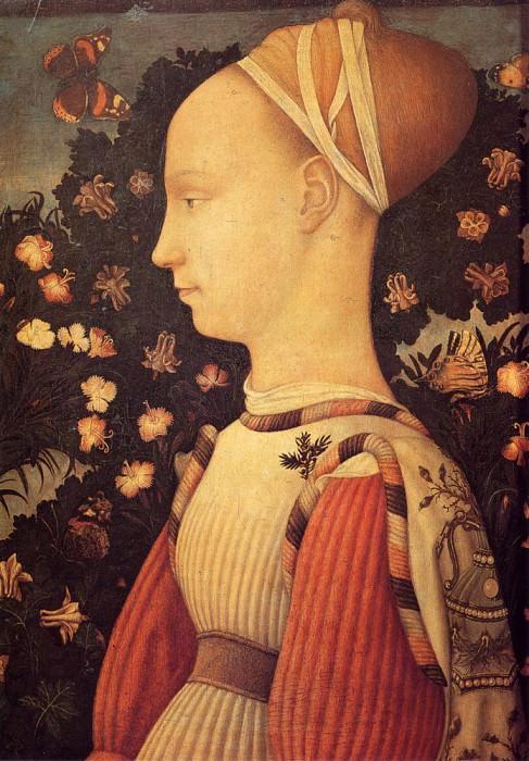 Portrait Of Ginerva D Este. Antonio Pisanello
