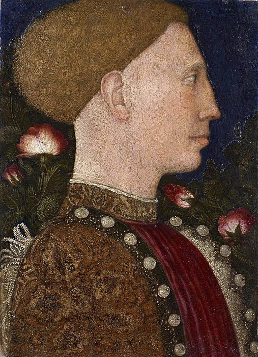 Портрет Лионелло д Эсте. Антонио Пизанелло