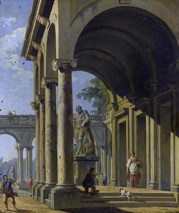Caprice architectural. Giovanni Paolo Panini