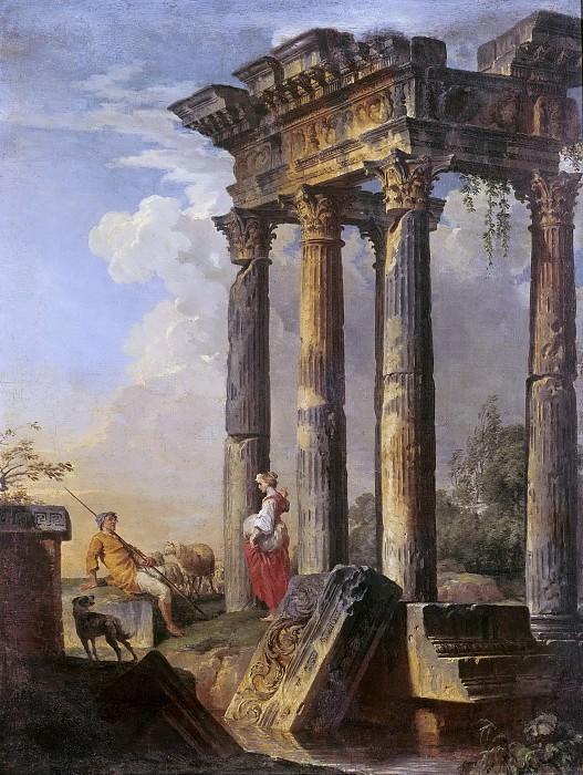 Roman Ruins. Giovanni Paolo Panini