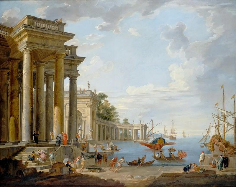 Coastal Scene. Giovanni Paolo Panini