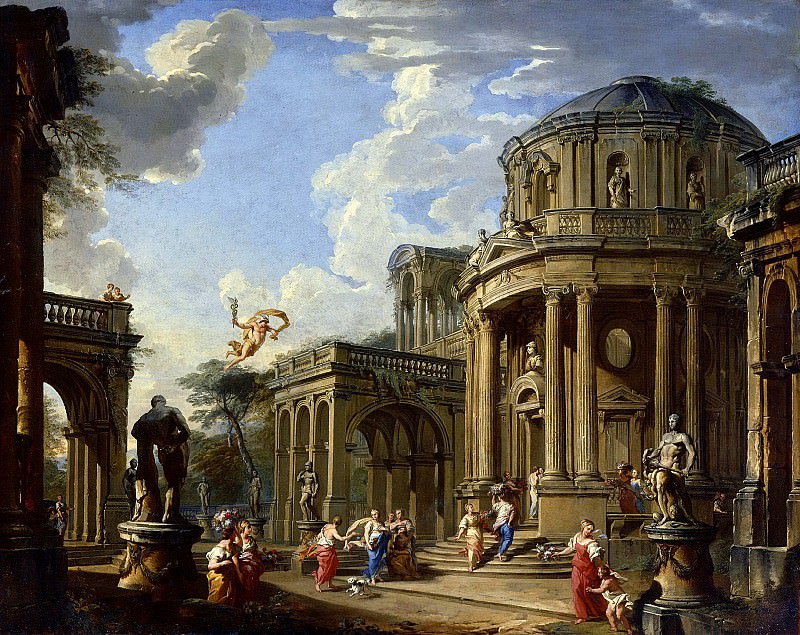 Hermes Appears to Calypso. Giovanni Paolo Panini