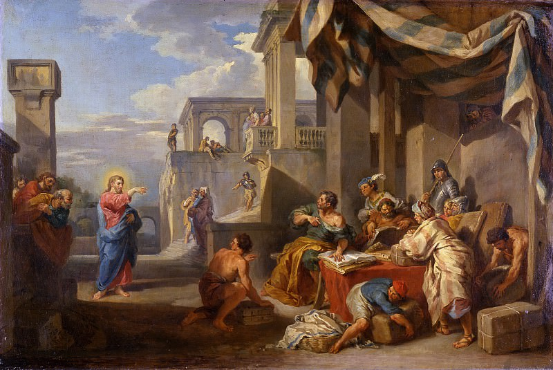 Призвание святого Матвея. Giovanni Paolo Panini
