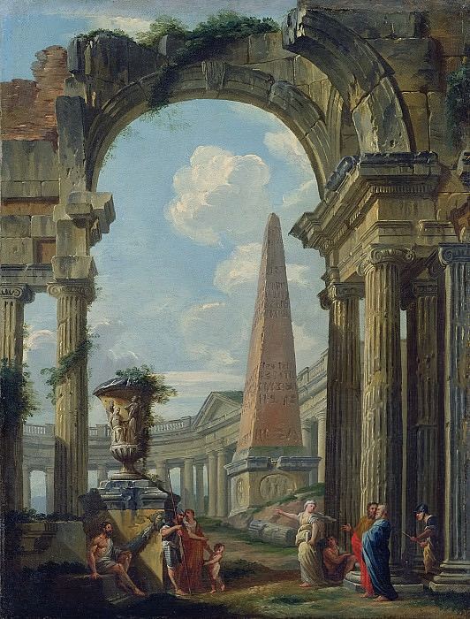 Ruins. Giovanni Paolo Panini