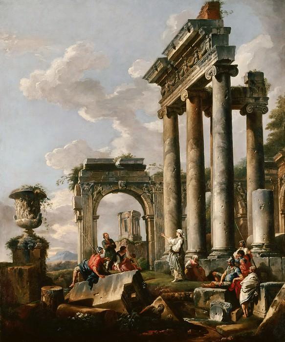Проповедь Сивиллы. Giovanni Paolo Panini