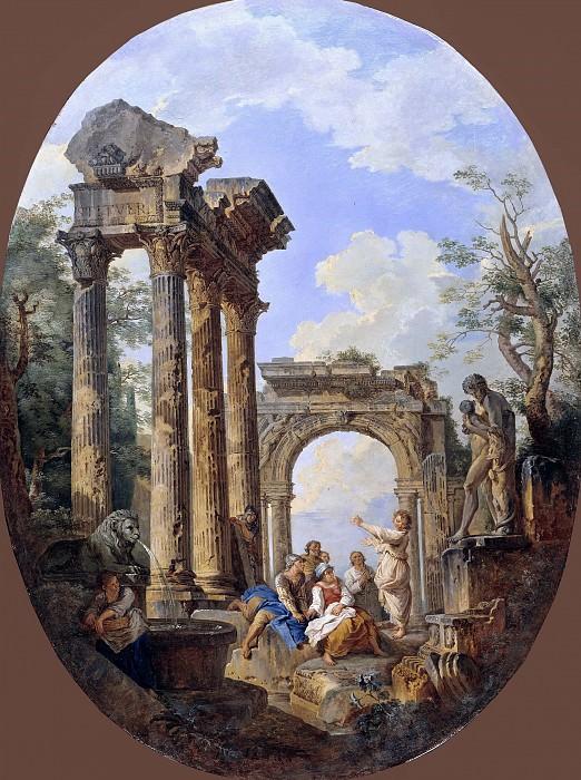 Римские руины. Джованни Паоло Панини