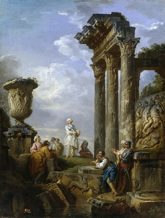 Preaching of a Sibyl. Giovanni Paolo Panini