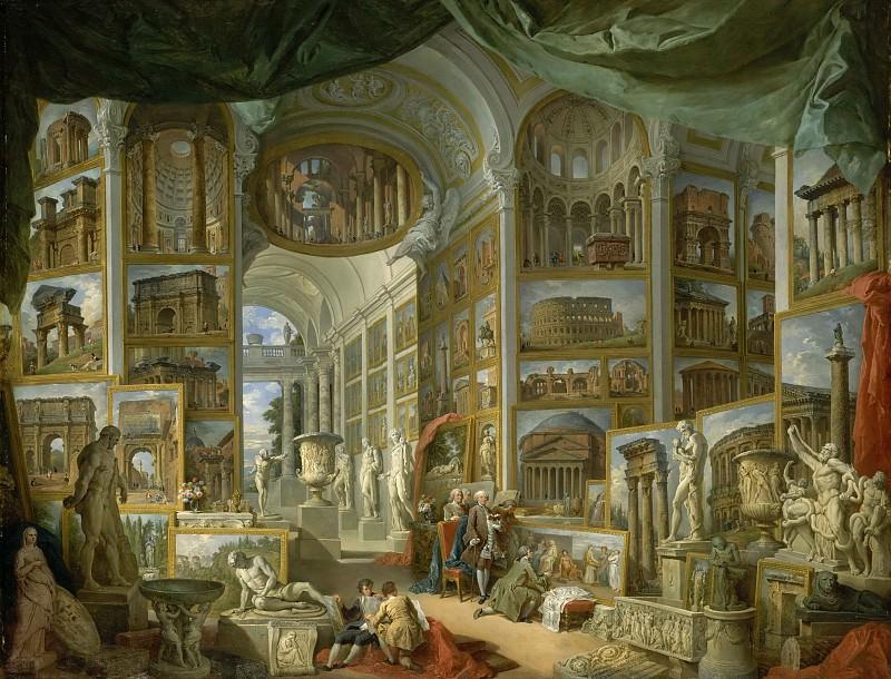 Ancient Rome. Giovanni Paolo Panini
