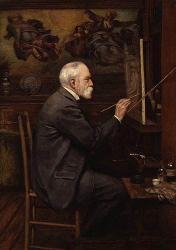 Self-portrait. Edward John Poynter