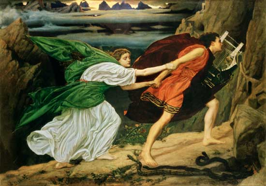 Orpheus and Eurydice. Edward John Poynter