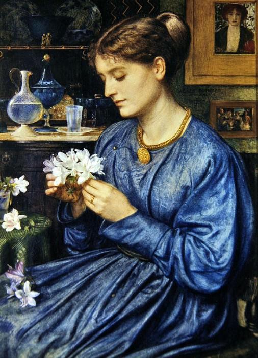 Portrait of Agnes Poynter. Edward John Poynter