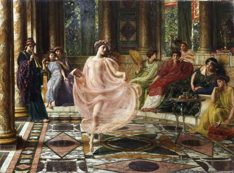 The Ionian Dance. Edward John Poynter