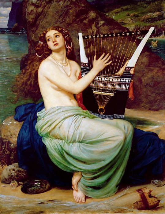 The Siren. Edward John Poynter