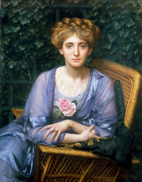 Portrait of Lady Markham. Edward John Poynter
