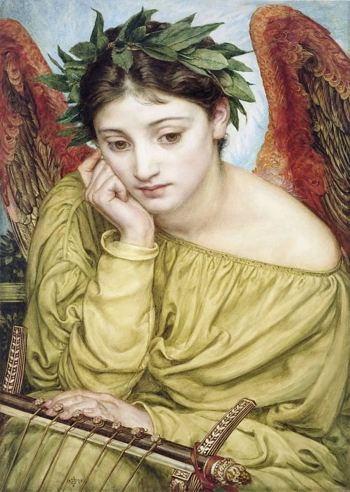 Erato Muse of Poetry. Edward John Poynter