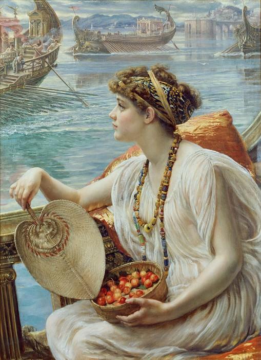 A Roman Boat Race. Edward John Poynter