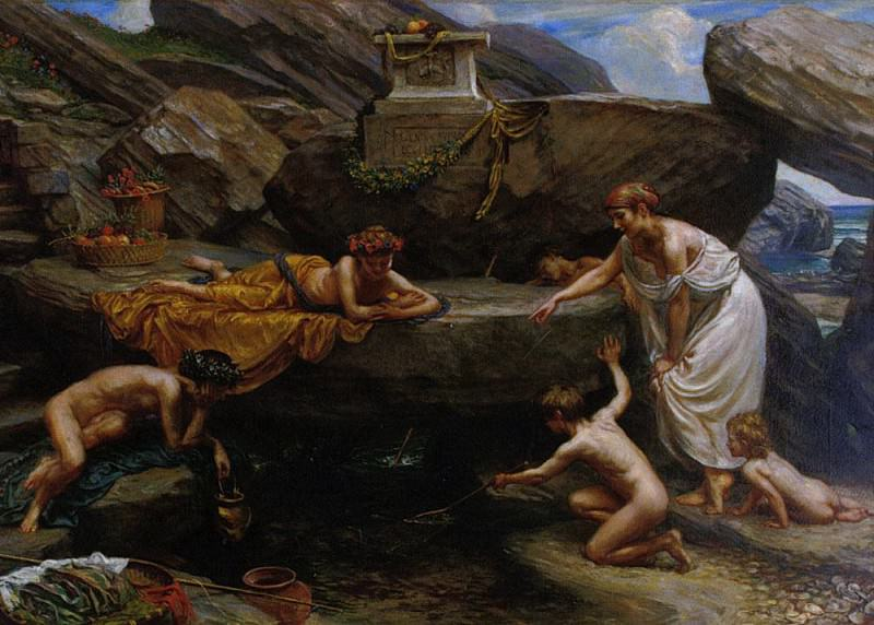 Wonders of the Deep. Edward John Poynter