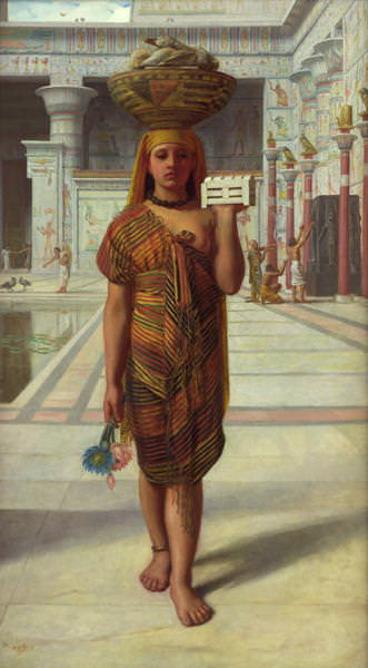 Offering to Isis. Edward John Poynter